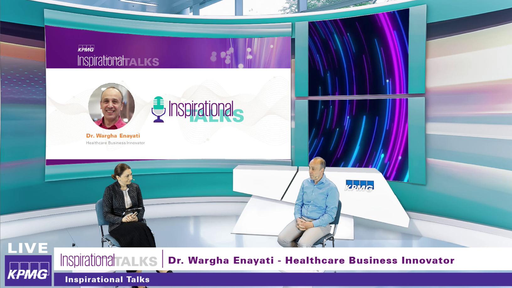Inspirational Talks: Ramona Jurubita, Country Managing Partner KPMG Romania, in discutie cu Dr. Wargha Enayati.