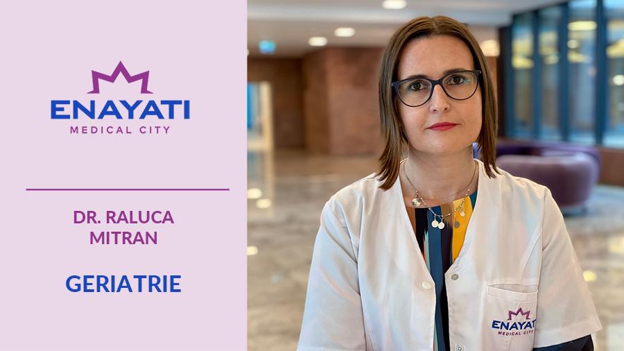 """Raluca Mitran, specialist geriatrie: """"Vârsta nu e o boală, ci o sumă de experiențe pozitive și negative, din care putem învăța multe"""""""
